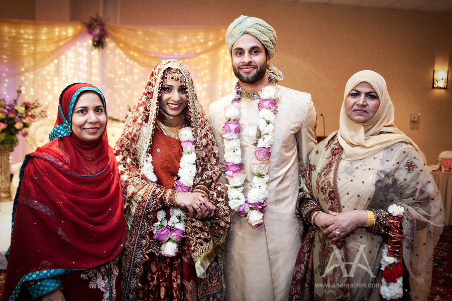 what is a muslim wedding like